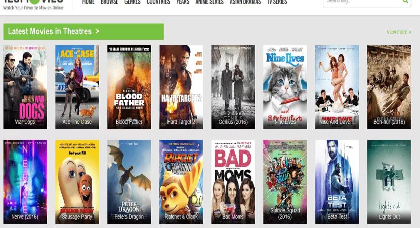 Best Free Movie sites like 123movies