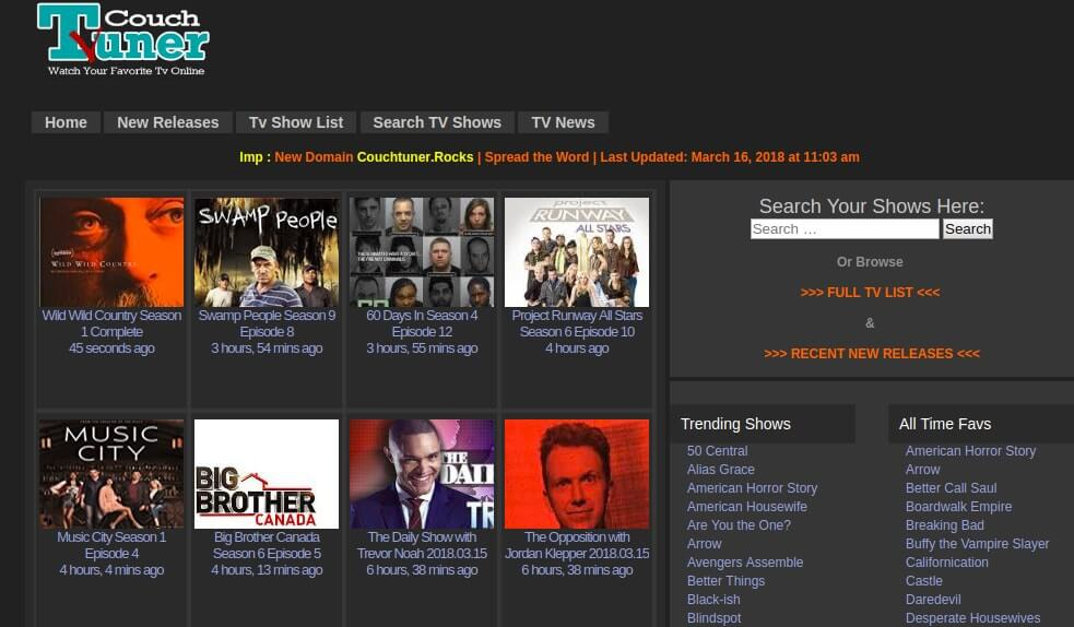 foto de Top 10+ Best Free Movie Streaming Sites like Couchtuner
