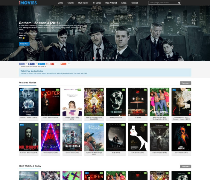 NEW* Proxy/Mirrors to Unblock 1movies.tv
