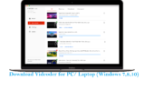 Download Youtube videos by using Videoder for PC