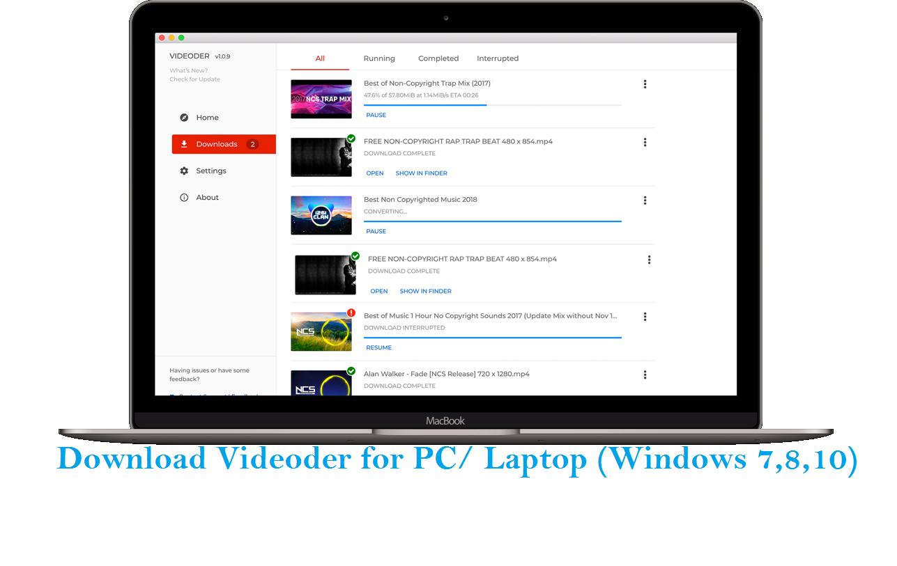 Download Videoder for PC/ Laptop (Windows 7,8,10 ...
