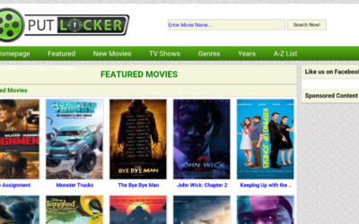 Best Sites like putlocker.ac: Alternatives to Watch Free Movies- 2019