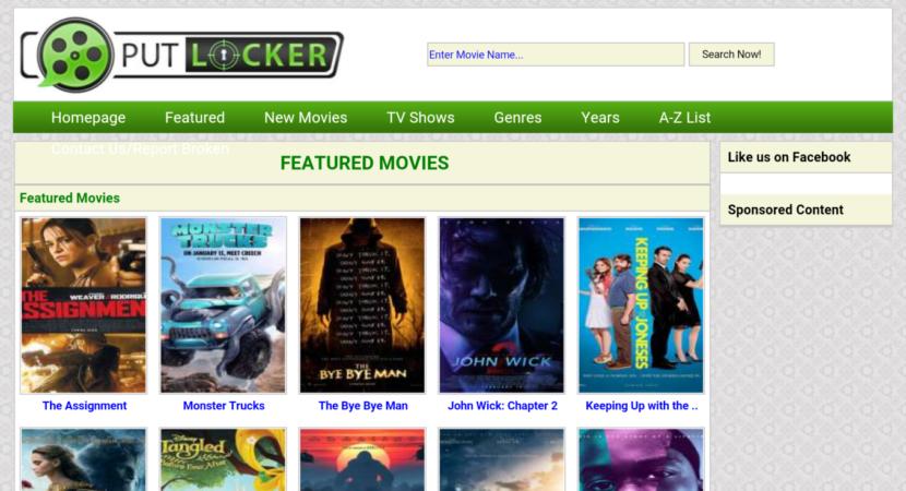 Best Sites like putlocker.ac: Alternatives to Watch Free Movies- 2019