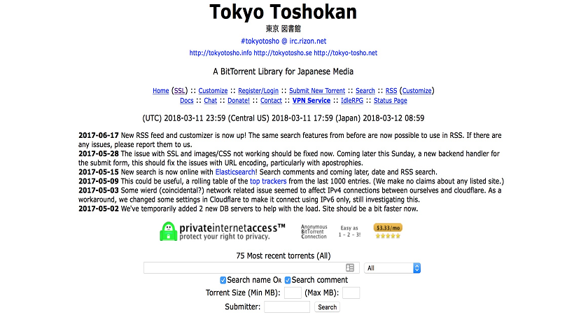 Best Working Tokyo Toshokan Proxy & Mirror Sites to Unblocked tokyotoshokan.info