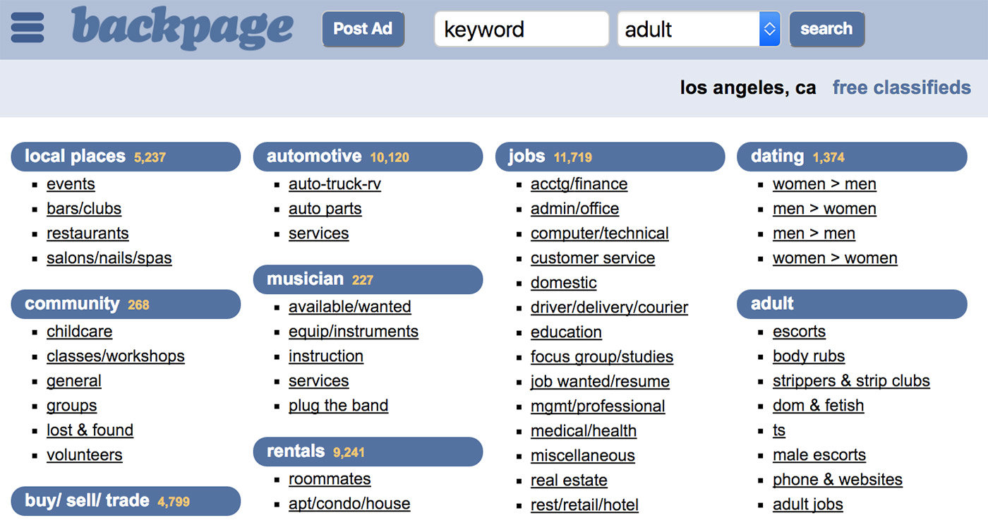 How to Post Ads on Craigslist & Backpage | GeniusGeeky