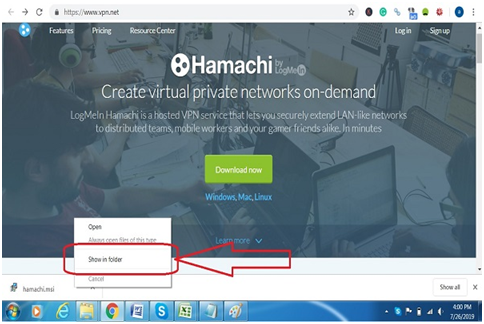 download Hamachi