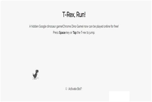 T-Rex, Run!
