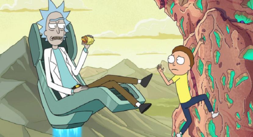 Rick and Morty Kisscartoon